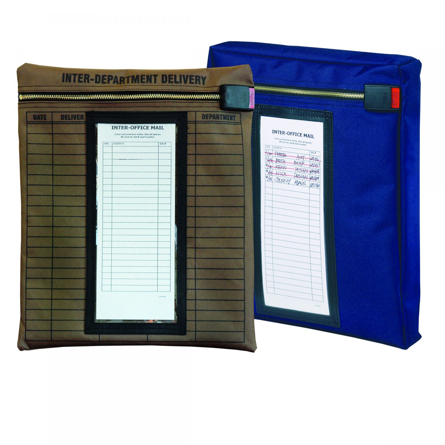 Keyless Security Doent Pouch Inter Office Envelope